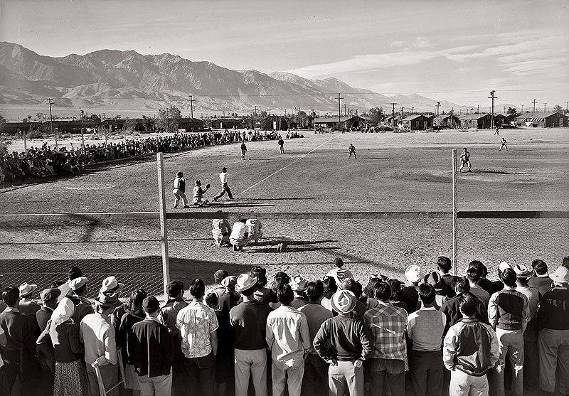 Adams - Manzanar Baseball