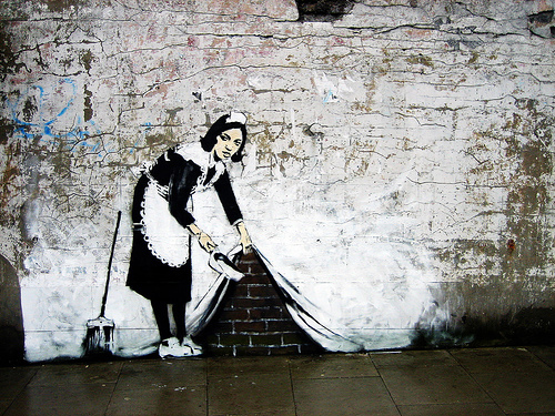 Banksy-SweepItUnder