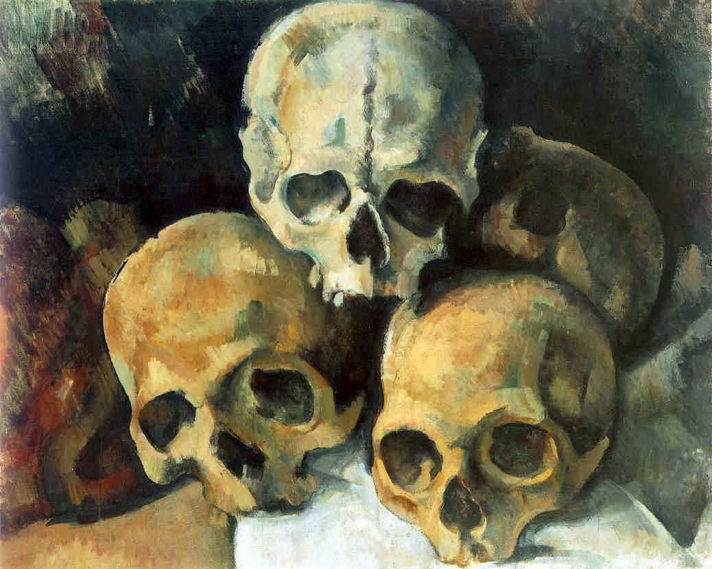 Cezanne - Pyramid of Skulls