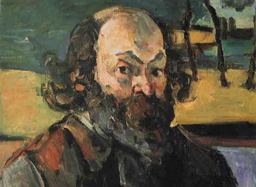 Cezanne - Self Portrait