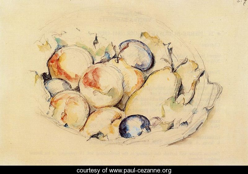 Cezanne-Fruits