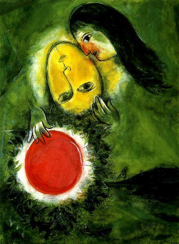 Chagall-Green Landscape