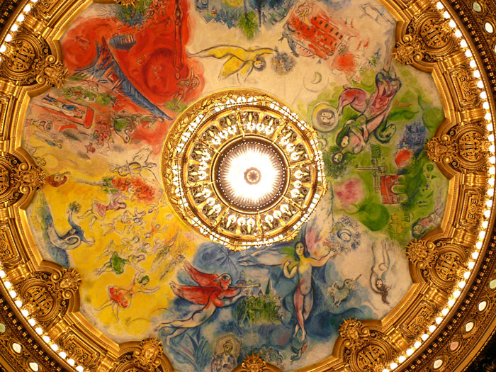 Chagall - Paris Opera House
