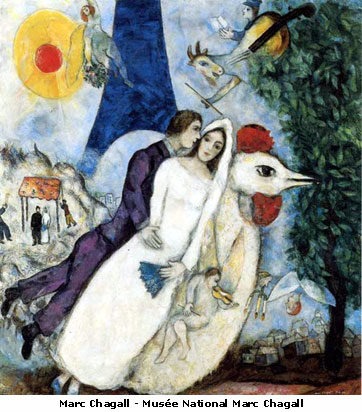 Chagall - Wedding Day
