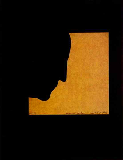 Duchamp-SelfPortrait-Profile