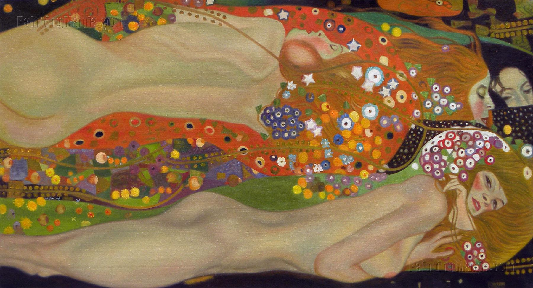 Klimt-WaterSerpents