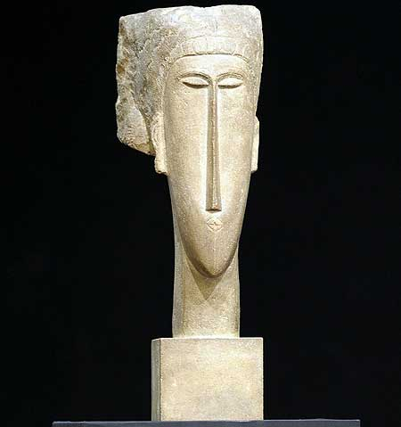 Modigliani-Sculpture