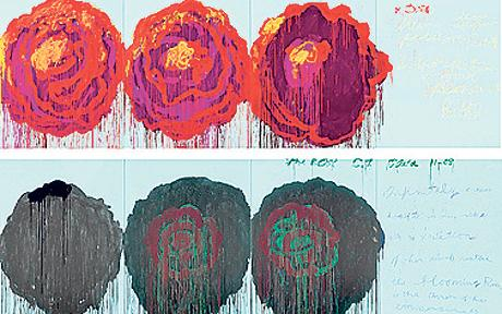 Twombly-Roses