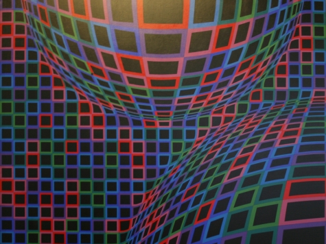Vasarely-SqsOnCurves