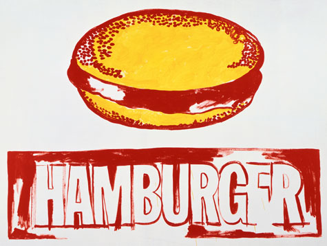 Warhol-Hamburger