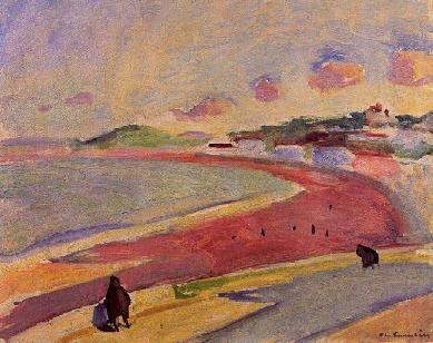 Charles Camoin - Beach at Tangiers