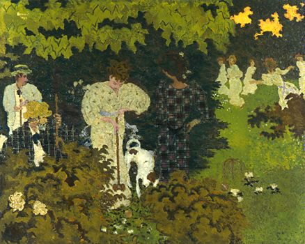 Pierre bonnard - The Croquet Game
