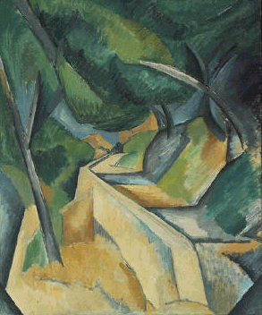 Georges Braque - Road near L'Estaque       que