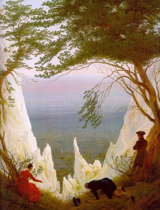 Friedrich - Chalk Cliffs