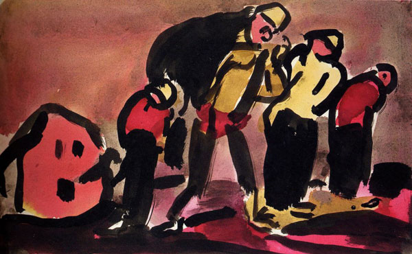 Georges Rouault - Faubourg