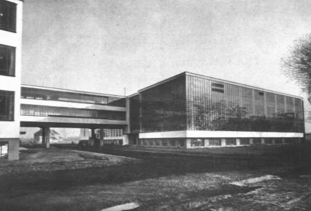The Bauhaus in Germany.