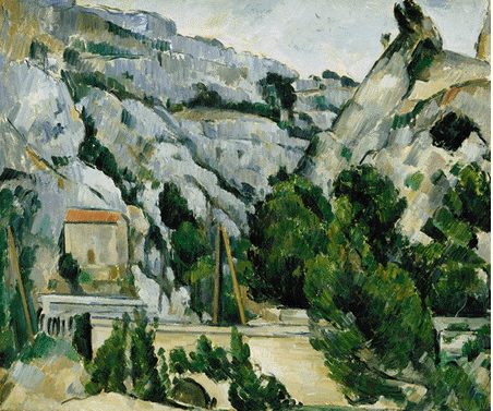 Paul Cezanne - The Viaduct at L'Estaque