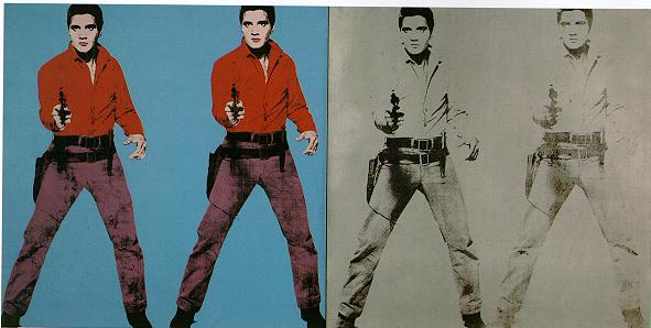 andy warhol   elvis i and