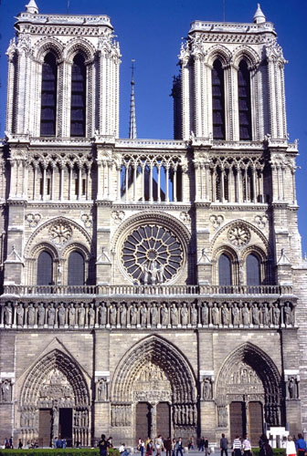 Writedesign historical and cultural context the high for Exterior notre dame