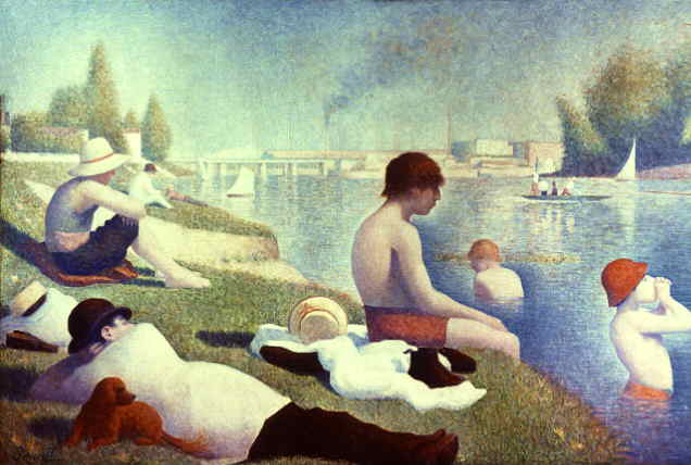 Georges Seurat - Bathing at Asnieres