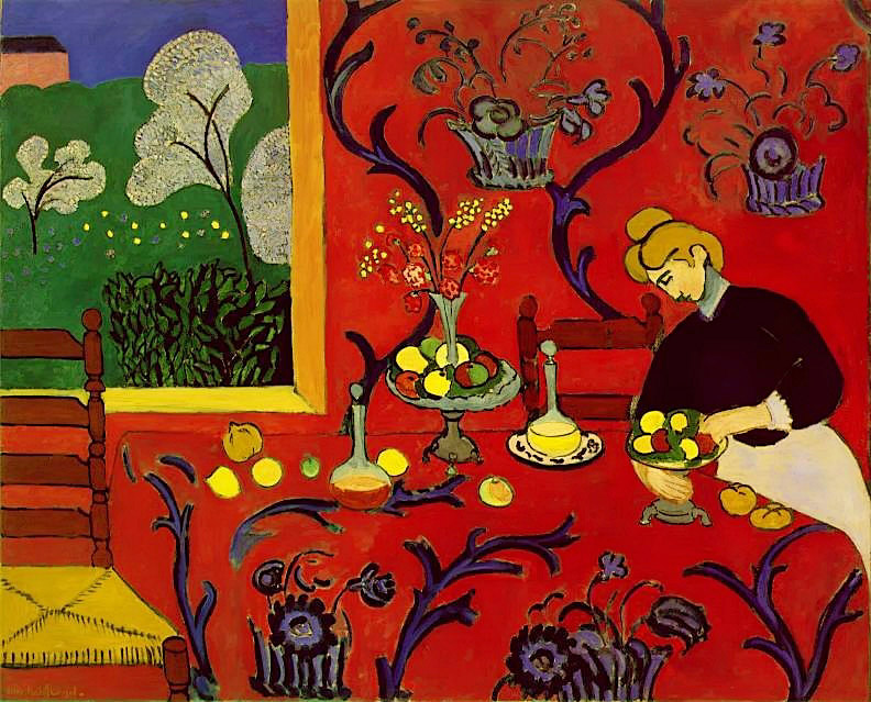 HMatisse-Harmony in Red
